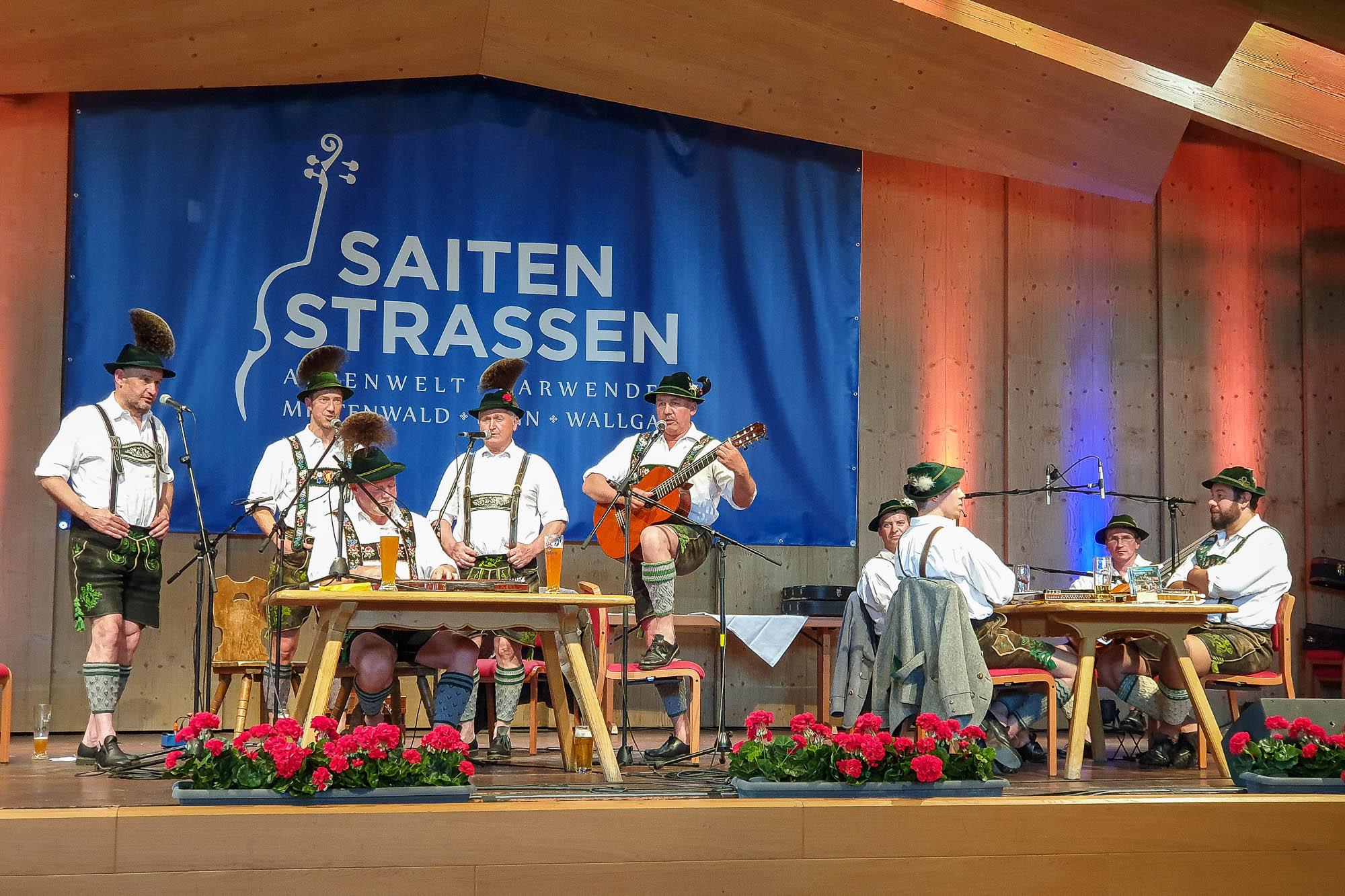 Saitenstrassen Musikfest in Krün